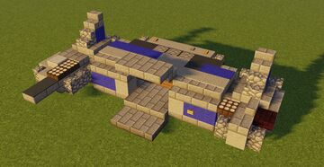 Star Wars VII Resistance Transport Minecraft Map & Project