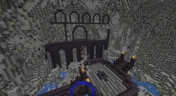 Dark Fantasy City Minecraft Map & Project