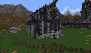 Dark Fantasy City Minecraft Map & Project