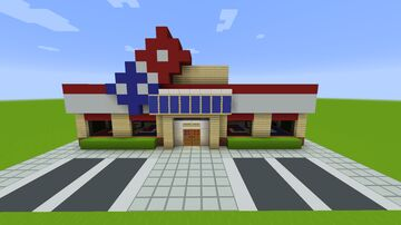 Dominos Pizza (Restaurant) Minecraft Map & Project