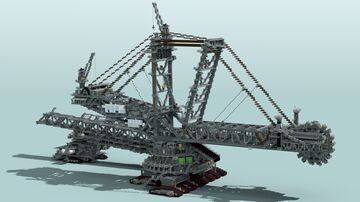 Bucket-Wheel Excavator Bagger 288 Minecraft Map & Project