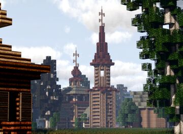 Tserkov' Svyatogo Nikolaya (Church of Saint Nicholas), Trading Rows, Suzdal, Russia Minecraft Map & Project