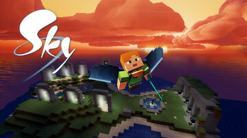 SKY - Children of the Light Minecraft Server Spawn/Home/Hub Minecraft Map & Project