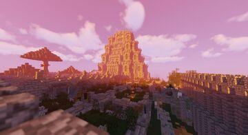 Overgrown Aztec Ruins Minecraft Map & Project