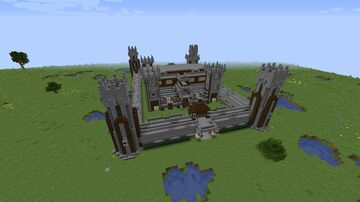 Modern-Medieval style House 1.16.3 Minecraft Map & Project