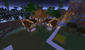 Age of Empires II - Far East Town Centre Minecraft Map & Project