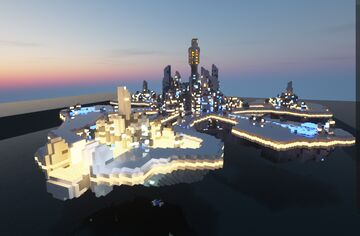 StarGate Atlantis Mini On&In the Water Minecraft Map & Project