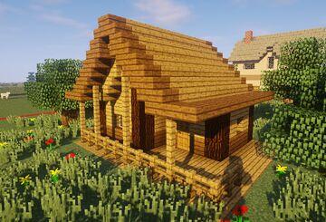 Cabanne dans les bois Minecraft Map & Project