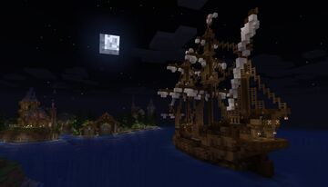 War Galleon Minecraft Map & Project