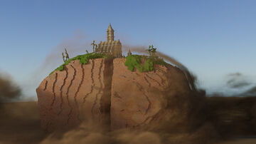 Dusty rock Castle Minecraft Map & Project