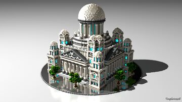 Temple of Art - now with download Minecraft Map & Project