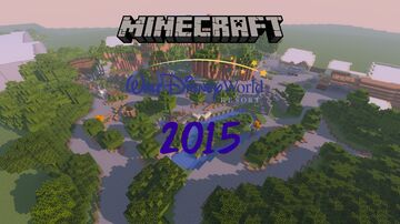 Walt Disney World 2015 Minecraft Map & Project