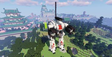 Exo-Force White Lightning Minecraft Map & Project