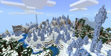 Minecraft Xbox 360 TU 73 8615058549406060437 Seed for Minecraft Bedrock 1.14.3+ Minecraft Map & Project