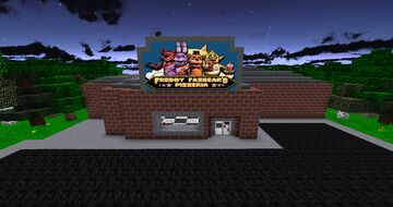 Five Night's At Freddy's HELP WANTED Pizzeria Minecraft Map & Project