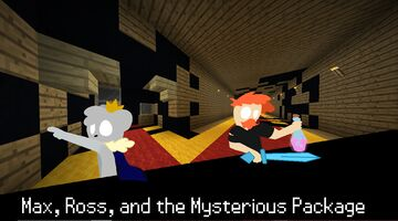 Max, Ross, and the Mysterious Package (Adventure Map) Minecraft Map & Project