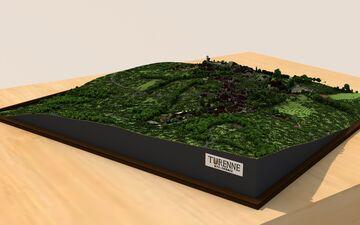 Village de Turenne // Corrèze Minecraft Map & Project