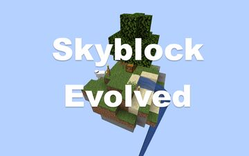 SkyBlock Evolved [1.15] Minecraft Map & Project