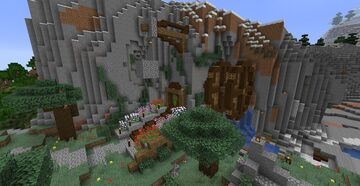 Minecraft Mountain hole By: Shourjya31 Minecraft Map & Project