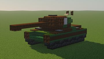 M26 Pershing Minecraft Map & Project