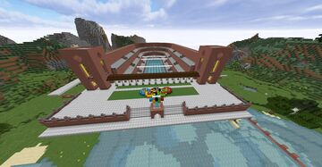 Philipstraße Olympic Pool Minecraft Map & Project