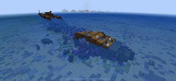Sunken Ship Minecraft Map & Project