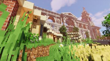 Phoenix City(Greek city) 15by15K Map Minecraft Map & Project