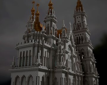 Gothic Church 10 Minecraft Map & Project
