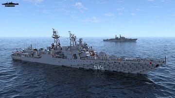Severomorsk 1:1 Scale Udaloy class Ft SCJackson Minecraft Map & Project