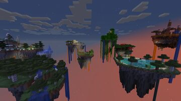 Biomes Islands Map by DaDa Minecraft Map & Project