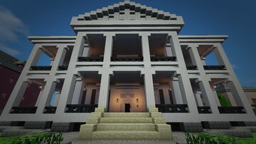 Miss Robichaux Academy for Exceptional Young Ladies (American Horror Story: Coven) Minecraft Map & Project