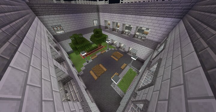 CourtyardSmoking Area
