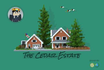 The Cedar Estate | Interior Contest | Krysot Minecraft Map & Project