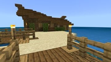∆Nate's-Beach-House∆ Minecraft Map & Project