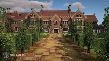 Bly Manor Minecraft Map & Project