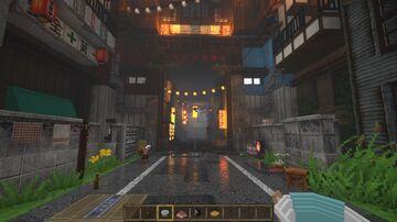 Japanese Yokai City Minecraft Map & Project