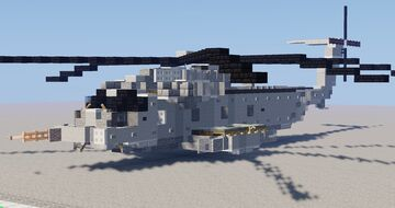 Sikorsky MH-53 Pave Low Minecraft Map & Project