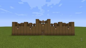 Palisade Template Minecraft Map & Project