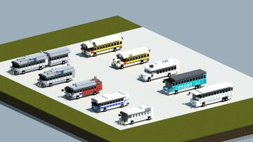 Dreamy's pack of buses [With Download] Minecraft Map & Project