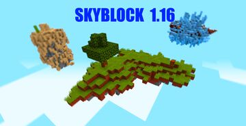Skyblock Hardcore 1.16 Minecraft Map & Project