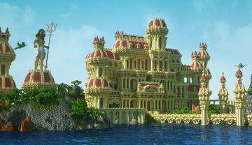 My Athlantis Minecraft Map & Project