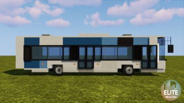 City bus | ERT Minecraft Map & Project