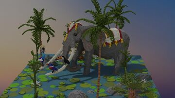 Tropical Elephant Minecraft Map & Project
