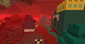 Angry Birds Vibin In The Nether (20w28a) Minecraft Map & Project