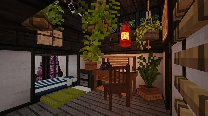 white cottage bedroom 1