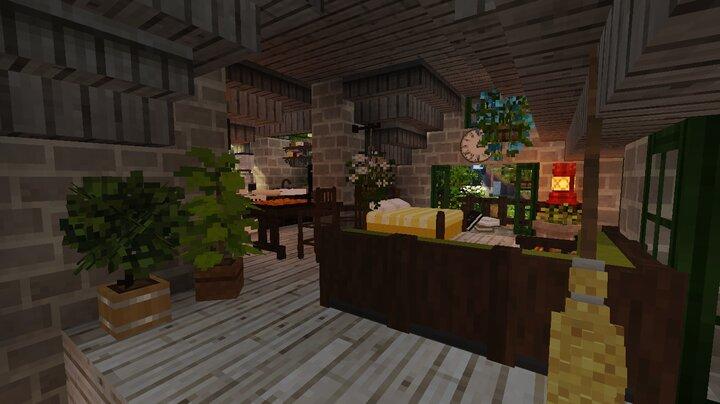 upstairs bakery interior