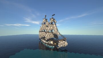 Chimera - 18th Century Pirate Ship Minecraft Map & Project