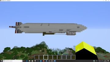 uss akron survival map Minecraft Map & Project
