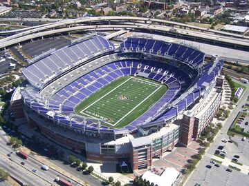 Minecraft M&T Bank Stadium- Home of the Baltimore Ravens (+Download) Minecraft Map & Project