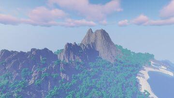 Survival Friendly Tropical Island REWORK (2k/2k) Minecraft Map & Project